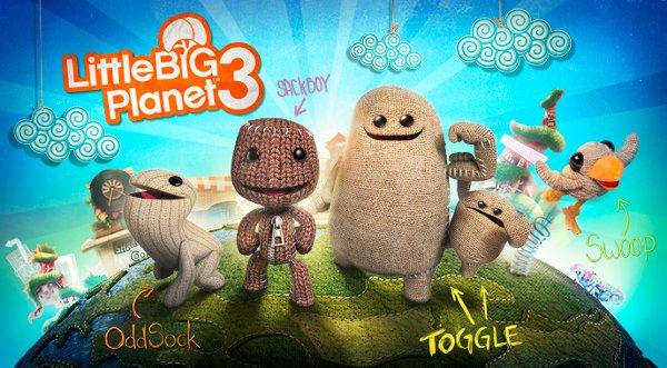 LittleBigPlanet 3 é anunciado para PlayStation 4