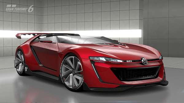 Conheça o processo de criação do Volkswagen GTI Roadster Vision Gran Turismo