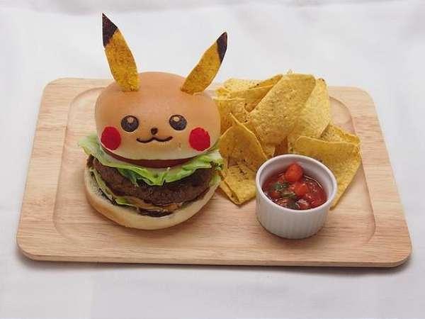 Cardápio inspirado no Pikachu