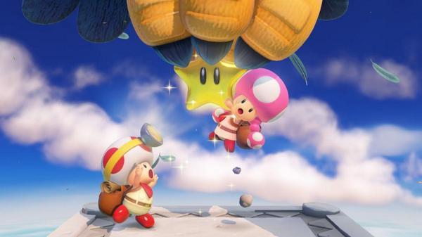 Toadette será um personagem jogável no Captain Toad: Treasure Tracker