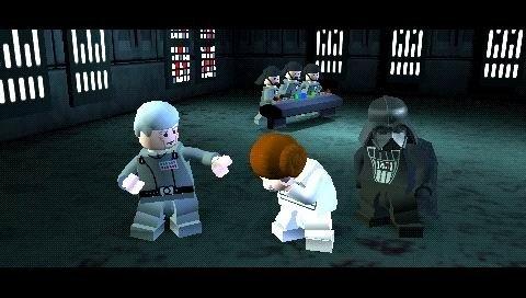Jogo Lego Star Wars Ii The Original Trilogy Para Psp