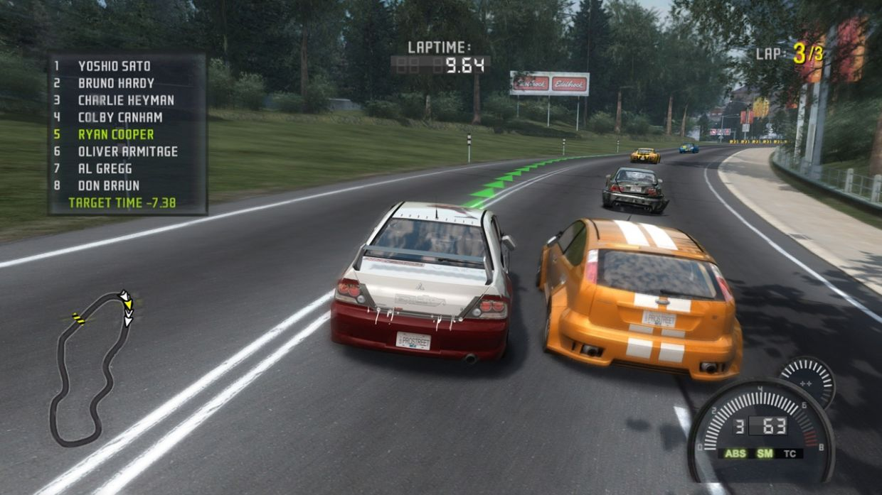 Jogo Need For Speed ProStreet Para PlayStation 3
