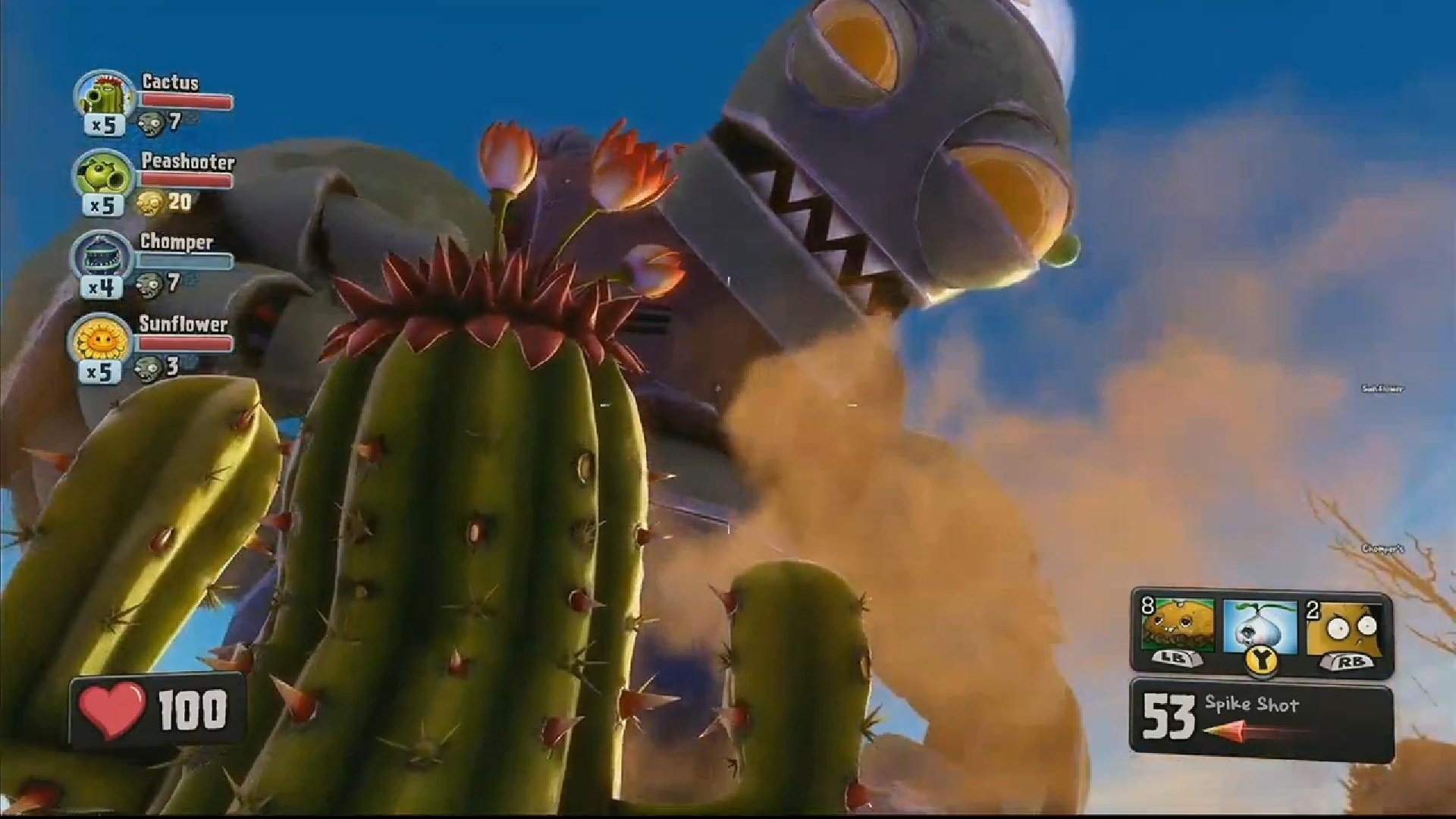 The zombies once again storm the yard and ignite garden warfare in this sequel to the quirky, one-of-a-kind strategy game Plants vs. Zombies. This game includes a bevy of new features, settings, and situations.