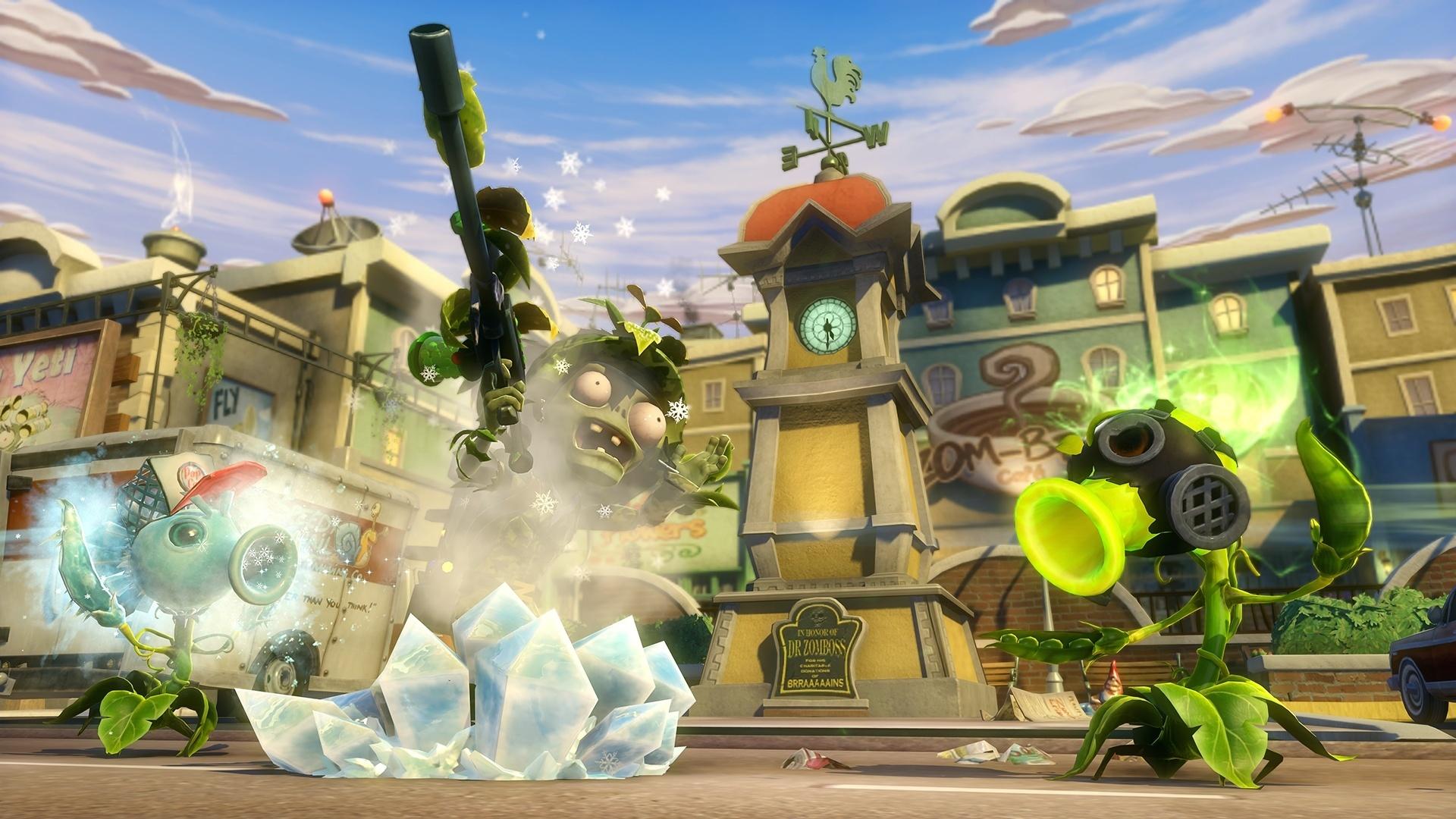Jogo Plants Vs Zombies Garden Warfare Para Xbox 360