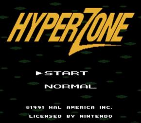 Screenshot de Hyper Zone