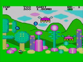 Screenshot de Fantasy Zone