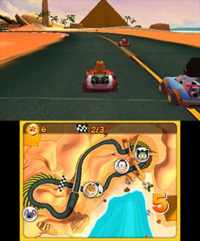 Screenshot de Garfield Kart