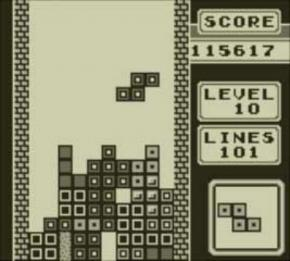 Screenshot de Tetris