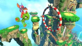 Screenshot de Yooka-Laylee