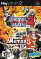 Metal Slug 4 & 5 para PlayStation 2