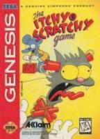 The Itchy & Scratchy Game para Mega Drive