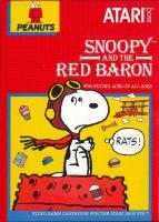 Snoopy & The Red Baron para Atari 2600