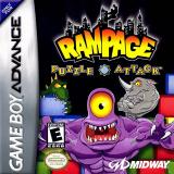 Rampage: Puzzle Attack para Game Boy Advance