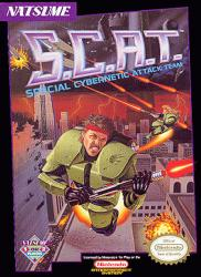 S.C.A.T.: Special Cybernetic Attack Team para NES