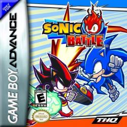 Sonic Battle para Game Boy Advance
