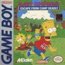 Bart Simpson's Escape from Camp Deadly para Game Boy