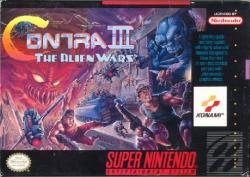 Contra III: The Alien Wars para Super Nintendo