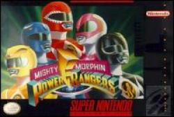 Mighty Morphin Power Rangers para Super Nintendo