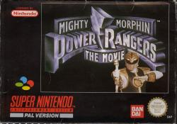Mighty Morphin Power Rangers: The Movie para Super Nintendo