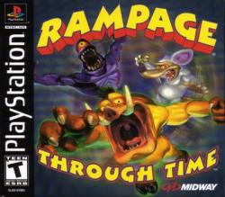 Rampage Through Time para PlayStation