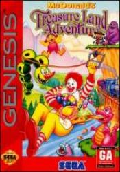 McDonald's TreasureLand Adventure para Mega Drive