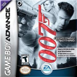 007: Everything or Nothing para Game Boy Advance