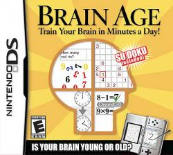 Brain Age: Train Your Brain in Minutes a Day para Nintendo DS