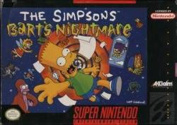 Bart's Nightmare para Super Nintendo