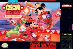 The Great Circus Mystery: Starring Mickey and Minnie para Super Nintendo
