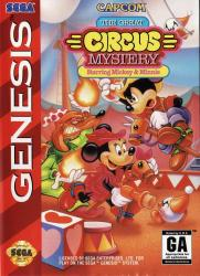 The Great Circus Mystery: Starring Mickey and Minnie para Mega Drive