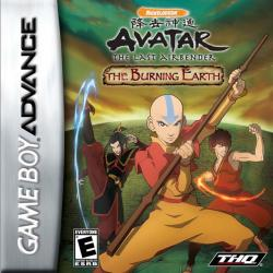 Avatar: The Last Airbender - The Burning Earth para Game Boy Advance