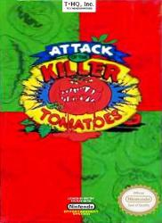 Attack of the Killer Tomatoes para NES