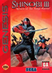 Shinobi III: Return of the Ninja Master para Mega Drive