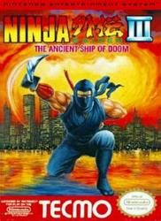 Ninja Gaiden III: The Ancient Ship of Doom para NES