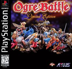Ogre Battle: The March of the Black Queen para PlayStation