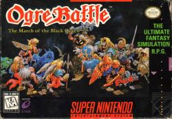 Ogre Battle: The March of the Black Queen para Super Nintendo
