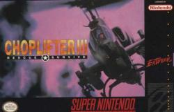 Choplifter III: Rescue Survive para Super Nintendo