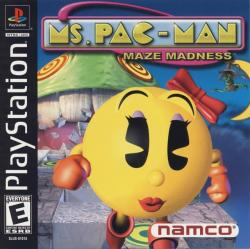 Ms. Pac-Man Maze Madness para PlayStation