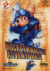 Rocket Knight Adventures para Mega Drive