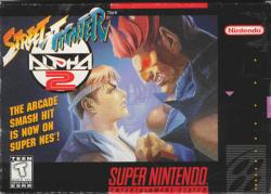 Street Fighter Alpha 2 para Super Nintendo