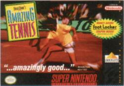 David Crane's Amazing Tennis para Super Nintendo