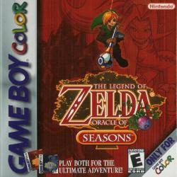 The Legend of Zelda: Oracle of Seasons para Game Boy Color