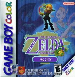 The Legend of Zelda: Oracle of Ages para Game Boy Color
