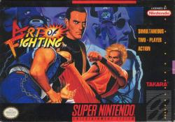 Art of Fighting para Super Nintendo