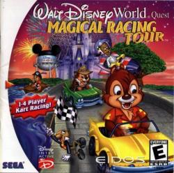 Walt Disney World Quest: Magical Racing Tour para Dreamcast