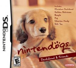 Nintendogs: Dachshund and Friends para Nintendo DS