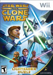 Star Wars The Clone Wars: Lightsaber Duels para Wii