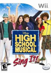 High School Musical: Sing It! para Wii