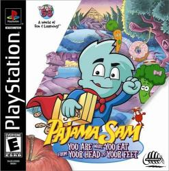 Pajama Sam: You are What you Eat from Your Head to Your Feet para PlayStation