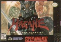 Hagane: The Final Conflict para Super Nintendo